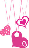 Valentine's day. The annual February 14 is the festival of love Royalty Free Illustration