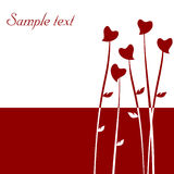 Valentine's day abstract Royalty Free Stock Photo