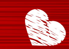 Valentine's day abstract Royalty Free Stock Photography