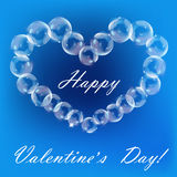 The Valentine's day.Abstract background Royalty Free Stock Photography