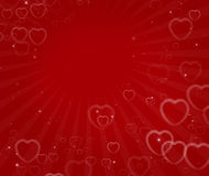 Valentine's day abstract background Royalty Free Stock Images