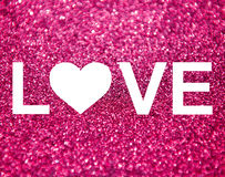 Valentine's day abstract background Stock Image