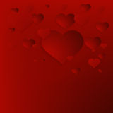 Valentine`s Day abstract background. + EPS10. Vector file stock illustration