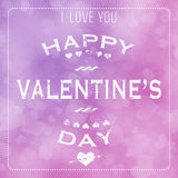 Valentine's Day Abstract Background Royalty Free Stock Photo