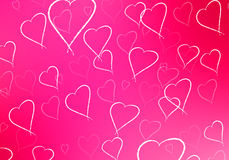 Valentine's Day Abstract Background Royalty Free Stock Image