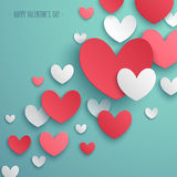 Valentine`s Day abstract background. Royalty Free Stock Photos
