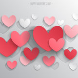 Valentine`s Day abstract background. Stock Images