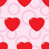 Valentine's day abstract seamless background. Royalty Free Stock Image