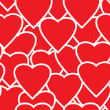 Valentine's day abstract seamless background. Royalty Free Stock Images