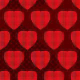 Valentine's day abstract seamless background royalty free illustration