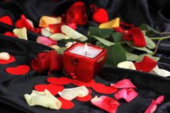 Valentine's Day art background Royalty Free Stock Photography