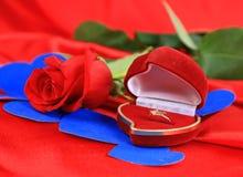 Valentine's Day art background Royalty Free Stock Photos