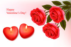 Valentine`s Day Background. Stock Photography