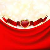 Valentine`s day background Stock Photo