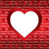 Valentine's day background Stock Photos
