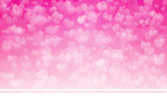 Valentine's Day Background. With  Space For Text And Ideas Royalty Free Stock Photos