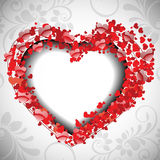 Valentine's Day background. Royalty Free Stock Photography