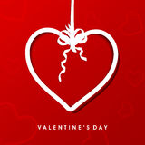 Valentine's Day background. Stock Images