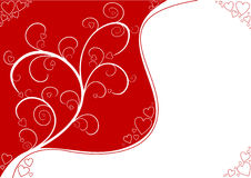 Valentine's Day background Stock Photography