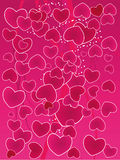Valentine's Day Background. Vector illustration Royalty Free Stock Photos