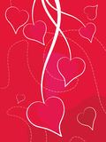 Valentine's Day Background. Vector illustration Royalty Free Stock Photo