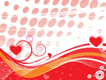 Valentine's day background. This is a valentine's day background Royalty Free Stock Images