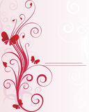 Valentine's day background. With space for text royalty free illustration