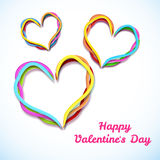 Valentine`s day background. Design concept Royalty Free Stock Photography