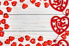 Valentine's day background. Free space for text. Stock Photo