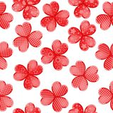 Valentine`s day background with funny hearts. On white Royalty Free Stock Photography