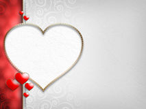 Valentine's Day - background of greeting card Stock Photography