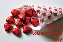 Happy Valentine`s Day ,Romantic and holiday concept stock image
