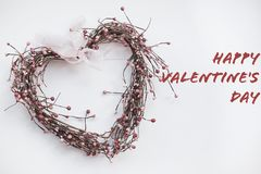 Happy Valentine`s Day ,Romantic and holiday concept stock photography