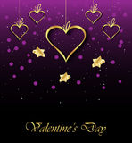 Valentine`s day background. Stock Photos