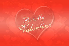 Valentine's day background with heart Royalty Free Stock Images