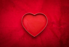 Valentine's day background with heart Royalty Free Stock Photo