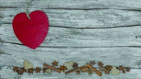 Valentine`s day background. Heart stop motion stock footage