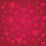 Valentine`s day background with heart Stock Images
