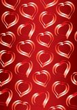 Valentine's Day background hearts Royalty Free Stock Photography