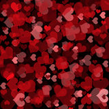 Valentine's day background. With hearts Royalty Free Stock Images
