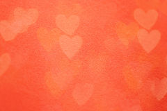 Valentine's day background with hearts Stock Photo