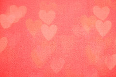 Valentine's day background with hearts Royalty Free Stock Images