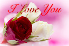 Valentine`s day background with hearts Royalty Free Stock Images