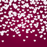 Valentine`s day background with hearts. Abstract background design. Template for prints, textile and decoration, wallpaper Royalty Free Stock Photos