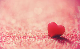 Valentine's day background. With hearts. the concept of love and Valentine's day Royalty Free Stock Photo