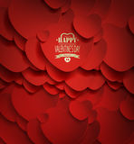 Valentine's Day Background Stock Photo