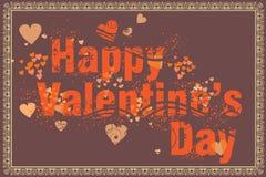 Valentine's day background. Illustration Royalty Free Stock Photography