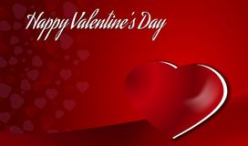 Valentine`s day background Royalty Free Stock Photography