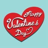 Valentine's day background illustration Stock Photos
