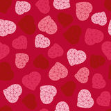 Valentine's Day background. Low-poly polygonal. Royalty Free Stock Photo